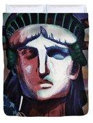 Statue Of Liberty Hb5t Duvet Cover