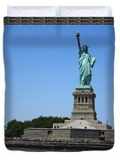 Statue Of Liberty New York America July 2015 Photo By Navinjoshi At Fineartamerica.com  Island Landm Duvet Cover
