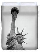 Statue Of Liberty, Portrait Duvet Cover
