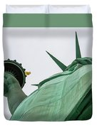 Statue Of Liberty, Torch And Crown Duvet Cover