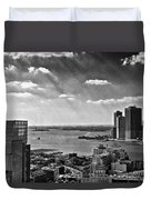 Statue Of Liberty View Duvet Cover
