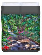 Stay On Your Path Duvet Cover