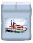 Steam Boat Duvet Cover