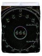 Steam Engine 444 Duvet Cover