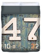 Steam Engine 47 Duvet Cover