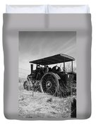 Steam Tractor Duvet Cover