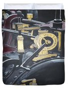 Steam Tractor Duvet Cover by Richard Le Page