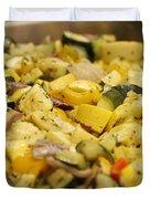 Steamed Vegetables Duvet Cover
