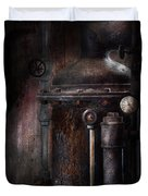 Steampunk - Handling Pressure  Duvet Cover