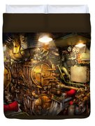 Steampunk - Naval - The Torpedo Room Duvet Cover