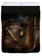 Steampunk - The Control Room  Duvet Cover