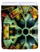 Steampunk Machination 1 Duvet Cover