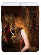 Steampunk Mirror Duvet Cover