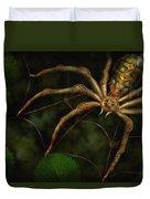 Steampunk - Spider - Arachnia Automata Duvet Cover