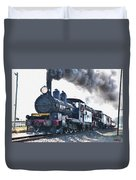 Steamtrain To Carltoncreekhurst L B Duvet Cover
