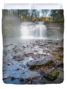 Steamy Morning At Pixley Falls Duvet Cover