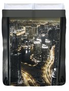 Steel Curtains Duvet Cover