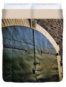 Steel Doors Duvet Cover