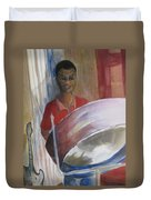 Steel Drums Duvet Cover