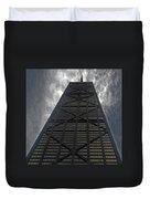 Steel Grey Skyrise Chicago Duvet Cover