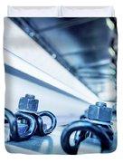 Steel Mechanic Hardware Duvet Cover