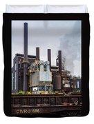 Steel Mill Duvet Cover