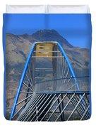 Steel Pedestrian Bridge In Ibarra Duvet Cover