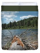 Steepbanks Lake The Fallen Duvet Cover