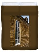 Steeple Window Wall Duvet Cover