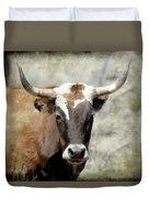 Steer Bull Duvet Cover