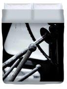 Steering Column Of Direction Duvet Cover