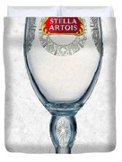 Stella Artois Chalice Painting Collectable Duvet Cover