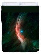 Stellar Winds Flowing Duvet Cover