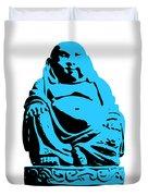 Stencil Buddha Duvet Cover