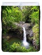 Step Falls Pipiwail Trail 3 Duvet Cover