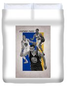 Stephen Curry Golden State Warriors Duvet Cover