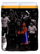 Stephen Curry Sweet Victory Duvet Cover