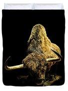 Steppe Bison Duvet Cover