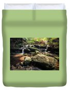 Stepping Cascade - Leura, Blue Mountains, Australia. Duvet Cover