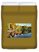 Stepping Stones Bolton Abbey Duvet Cover