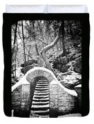 Steps Along The Wissahickon Duvet Cover