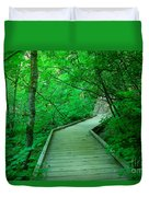 Steps Into Paradise Duvet Cover