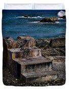 Steps To The Ocean2 Duvet Cover