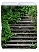 Steps With Ivy Duvet Cover