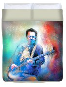 Steve Lukather 01 Duvet Cover