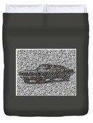 Steve Mcqueen Bullit Mosaic Duvet Cover