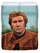 Steve Mcqueen Painting Duvet Cover