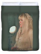 Stevie Nicks In Profile Duvet Cover