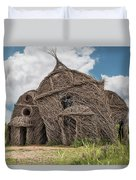 Lean On Me - Stick House Series #3 Duvet Cover