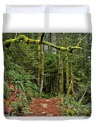 Sticking Out In The Rain Forest Duvet Cover
